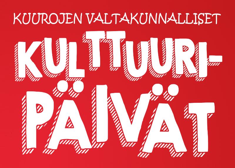 Kulttuuripäivät logo