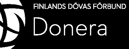 Kuurojen Liitto - Lahjoita logo
