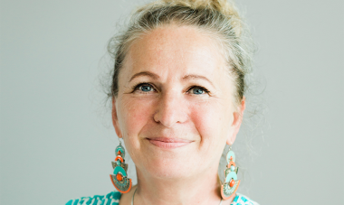 aluetyöntekijä Rita Auroila