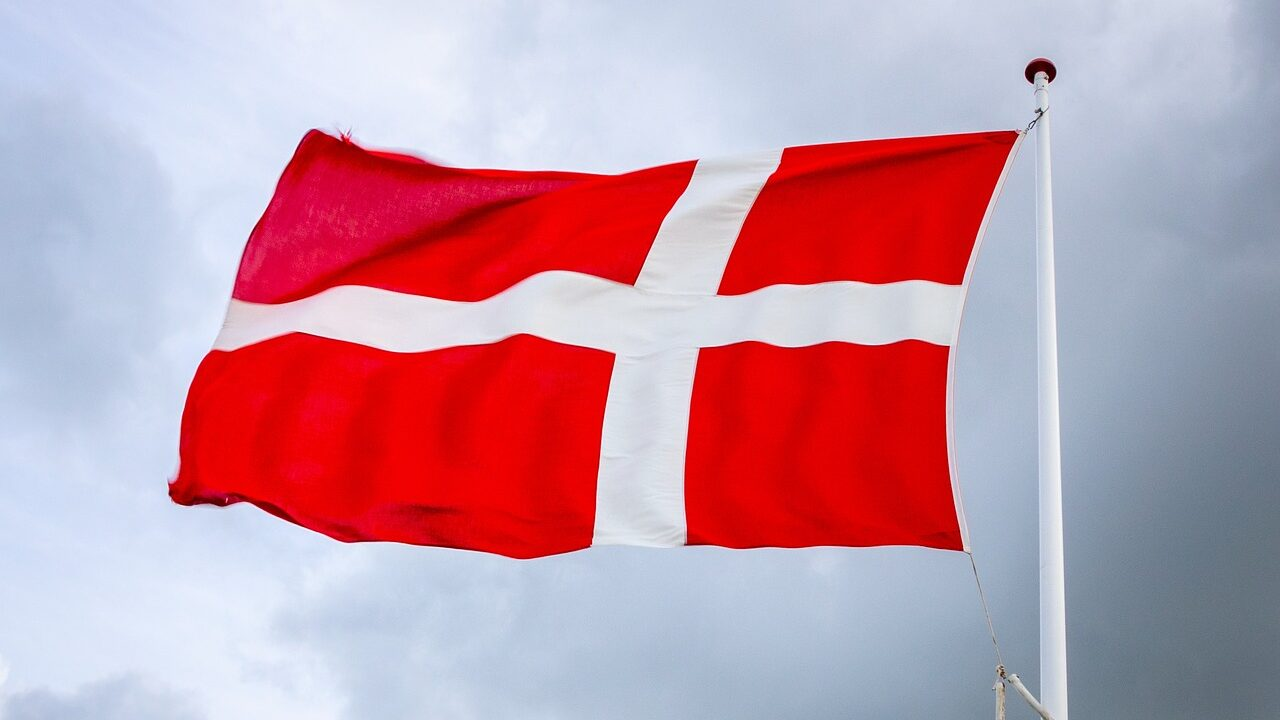 Tanskan lippu.